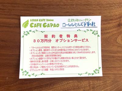 30万円分オプションプレゼントカード