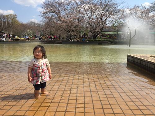 アンデルセン公園水遊び