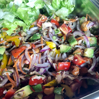 ツナとハーブのサラダ