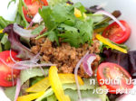 パクチー肉味噌サラダ麺