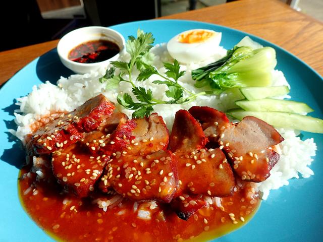 タイ風チャーシューご飯