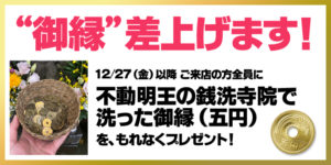 御縁(五円)玉プレゼント