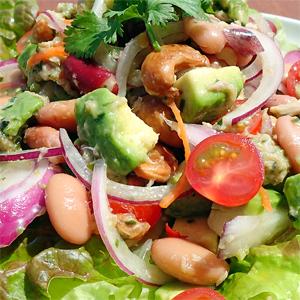 タイ風ツナと豆のサラダ
